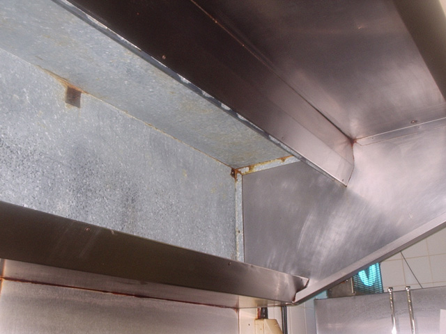 Kitchen extract ventilation systems cleaning